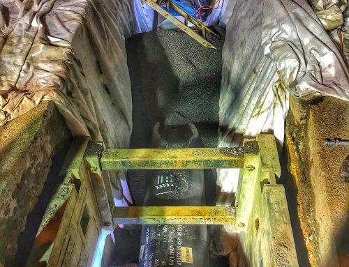 Water Main – DN600 welded MSCL, January 2018